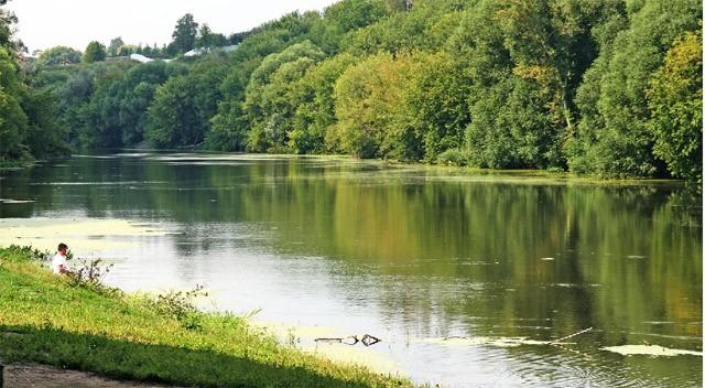 красивая речка пейзаж